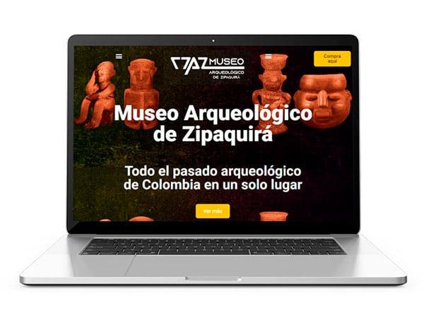 paginas web museo de zipaquira
