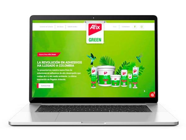 diseño de paginas web pegatex