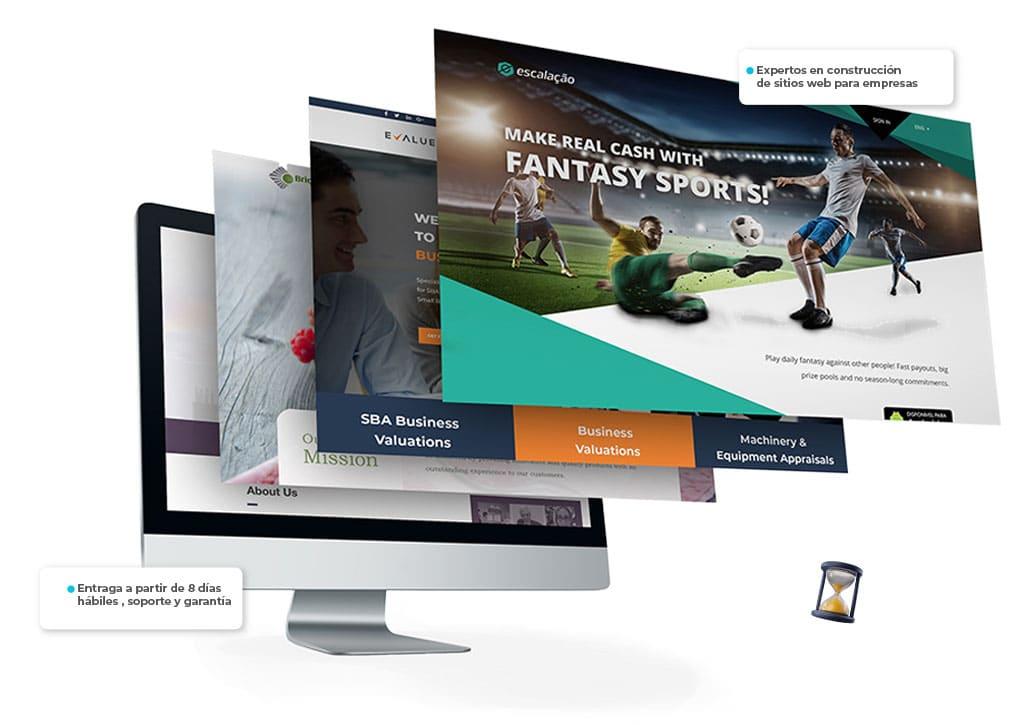 paginas web profesionales para empresas en colombia