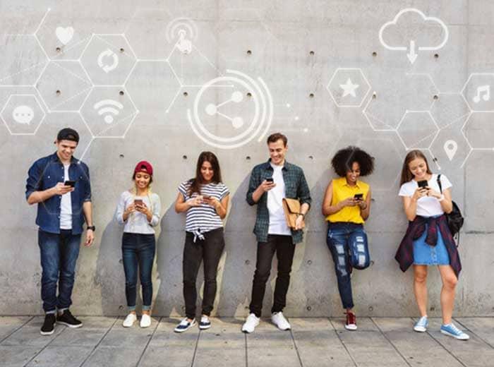 tipos de redes sociales c agencia